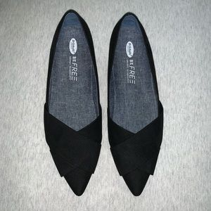Dr. Scholl's Shoes - Dr. Scholls Loma Black Pointed Flat Size 8 NIB